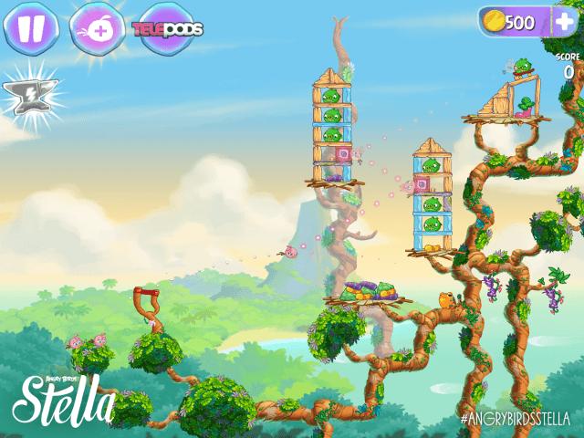 Angry Birds для дівчаток розповість про подвиги рожевої пташки