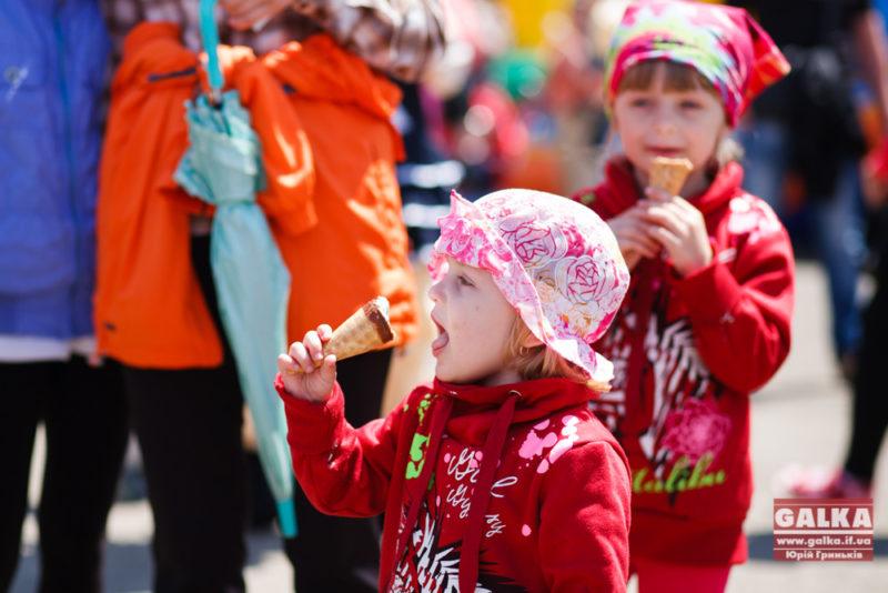 В Івано-Франківську відбулося свято морозива
