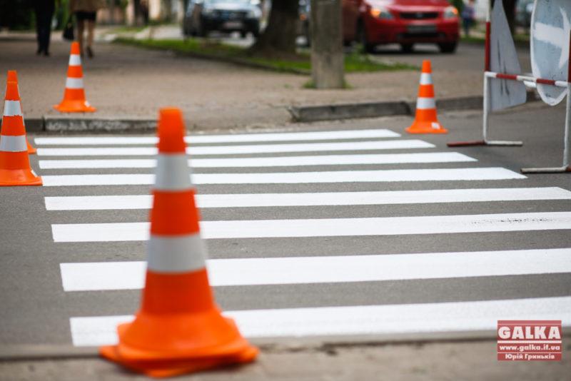 У Франківську почнуть оновлювати розмітку на дорогах