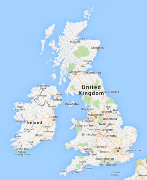 Google Maps пропонує політати над Уельсом на драконі
