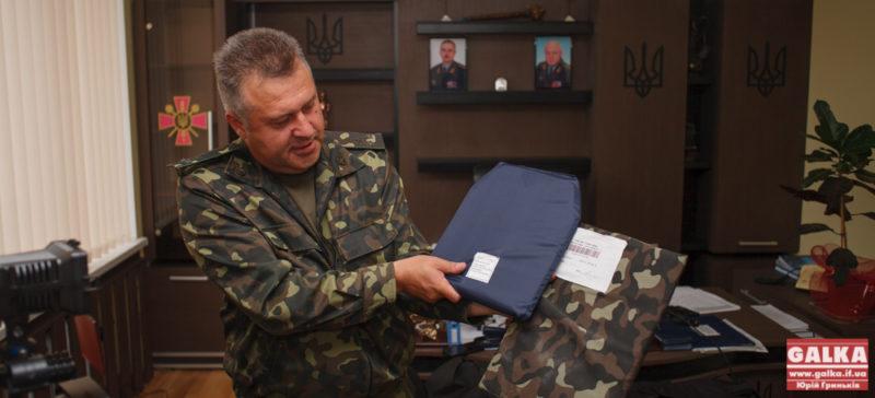 Павлюк відправив у Київ двох офіцерів, щоби вони на місці оперативно закуповували бронежилети