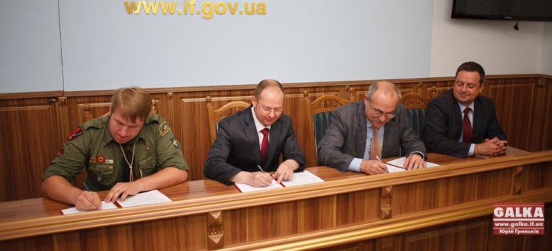 Пласт підписав договір про співпрацю з обласним керівництвом