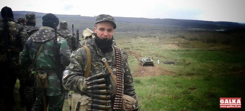 Свободівець із Городенки Михайло Човганюк отримав пораненя у протистоянні з терористами ЛНР