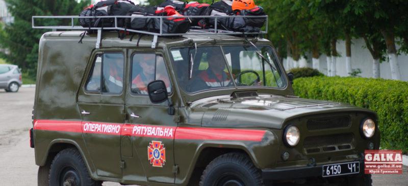 Франківські рятувальники працюють та служать в зоні АТО