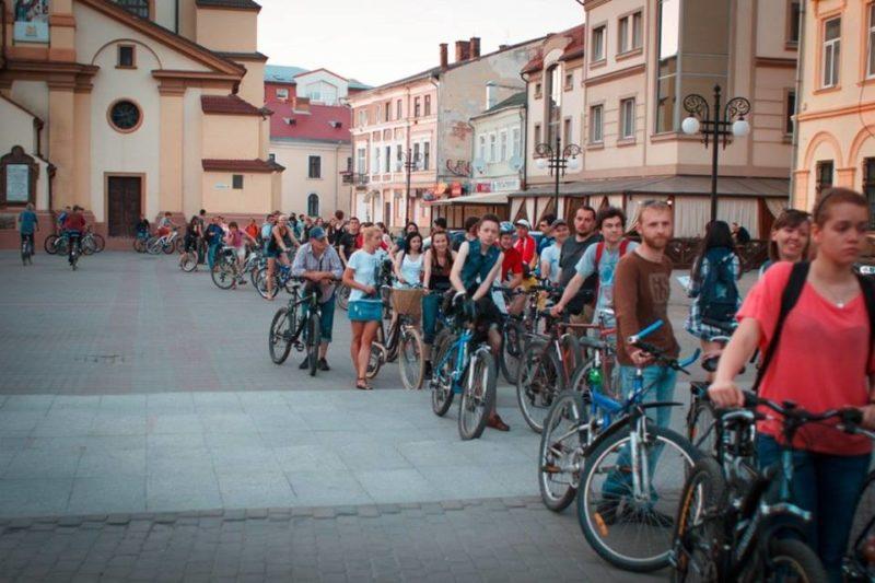 Нічна велоекскурсія відбулась у Франківську