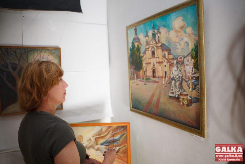 В новому мистецькому залі відкрилася виставка Назара Кардаша