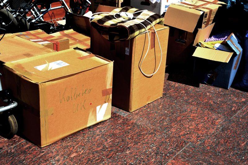 До Івано-Франківська з Німеччини доставили гуманітарну допомогу для військових