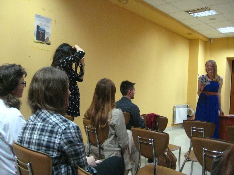 """У Франківську презентували книжку """"Не плач, Марі"""""""
