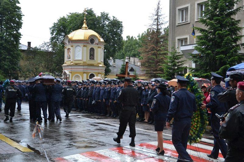 Відбулася панахида за загиблими на Донеччині військовими