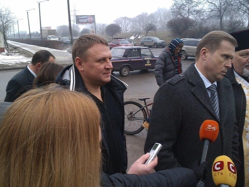 Гончарук зізнався, що на відкриття набережної його запросили (ФОТО)