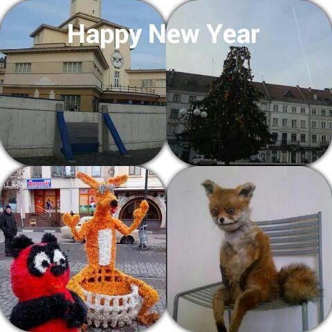 Карнавальні фігурки у центрі Франківська порівнюють з упоротим лисом