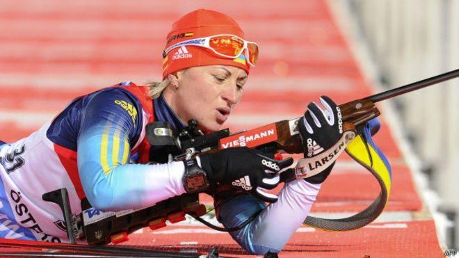 Біатлоністка Семеренко виграла срібло на Кубку світу в гонці переслідування