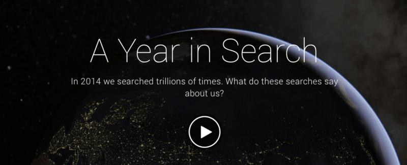 Google показав, що користувачі шукали у 2014 році
