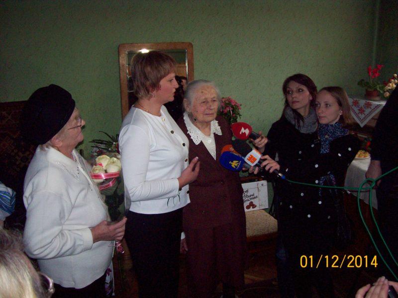 Мешканка Франківська відзначила 100-літній ювілей