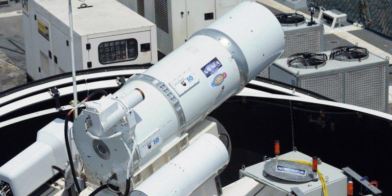 Привіт Путіну: США розпочали озброєння кораблів лазерними гарматами