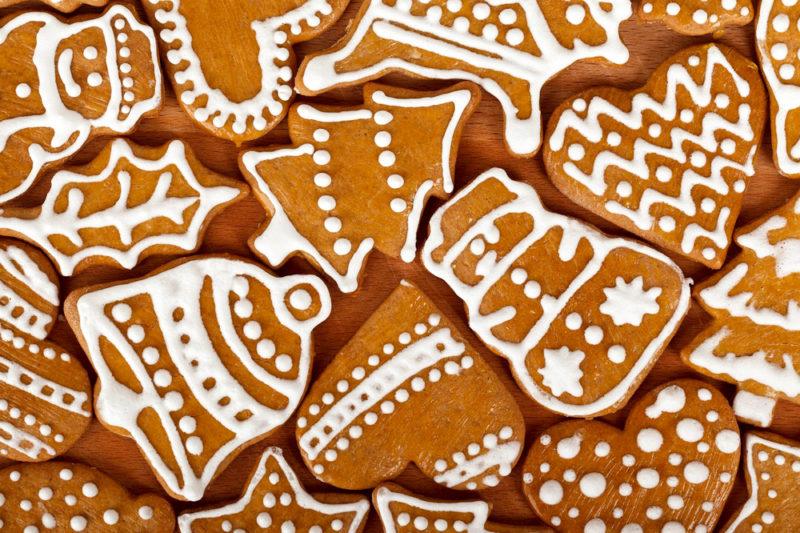 Печиво, бісквіт, свято, подарунок, подарунки, розмольовані, пряник, пряники