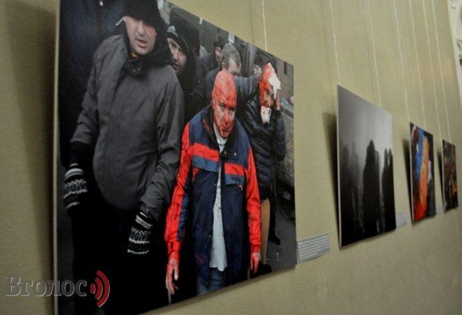 У Львові представили фотовиставку полеглого в зоні АТО Віктора Гурняка