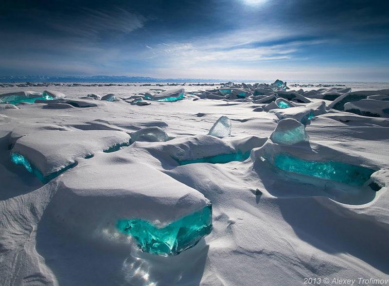 В очікуванні зими: шедеври зі снігу й льоду, створені природою