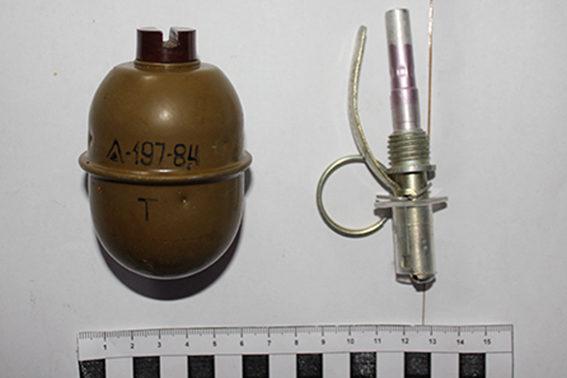 Прикарпатський селянин зберігав гранатомет, гранату та пістолет (ФОТО)