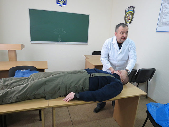 Івано-Франківське ДАІ підготувалося до виїзду в АТО