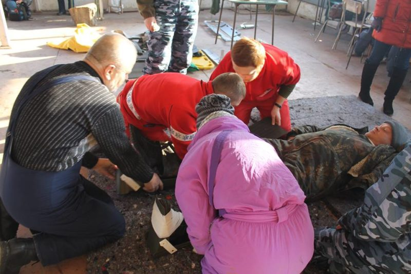 """Медики-добровольці """"Гіппократа"""" розпочали навчання з надання допомоги бійцям АТО (ФОТО)"""