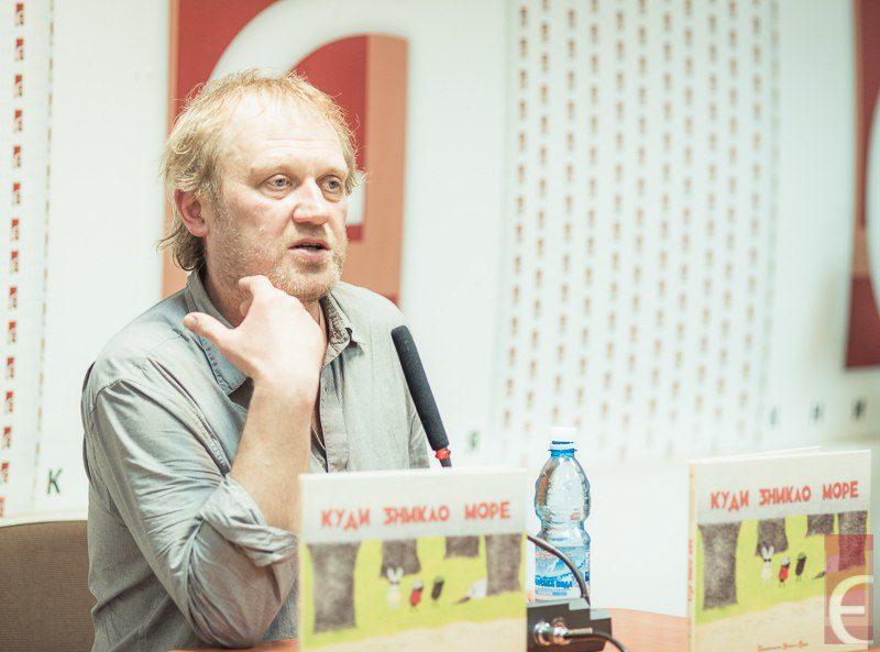 Тарас Прохасько провідав київських читачів