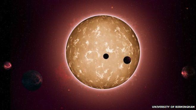 Вчені знайшли сонячну систему зі схожими на Землю планетами