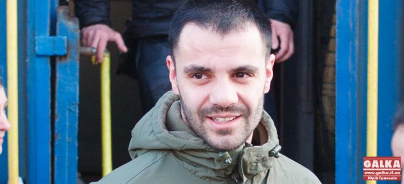 """Андріан Волгін, звільнений з полону боєць """"Донбасу"""": """"Вже скоро бігатиму кроси навколо озера"""""""