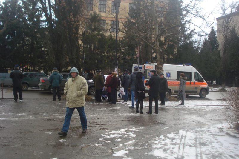 В центрі міста водій іномарки збив жінку (ФОТО)