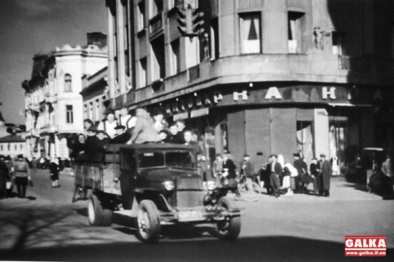 """Старе відео міста Станіслав – """"Наш кінотеатр"""", 1959 р. (ВІДЕО)"""
