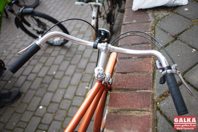 Міліція затримала франківця, який катався на краденому велосипеді