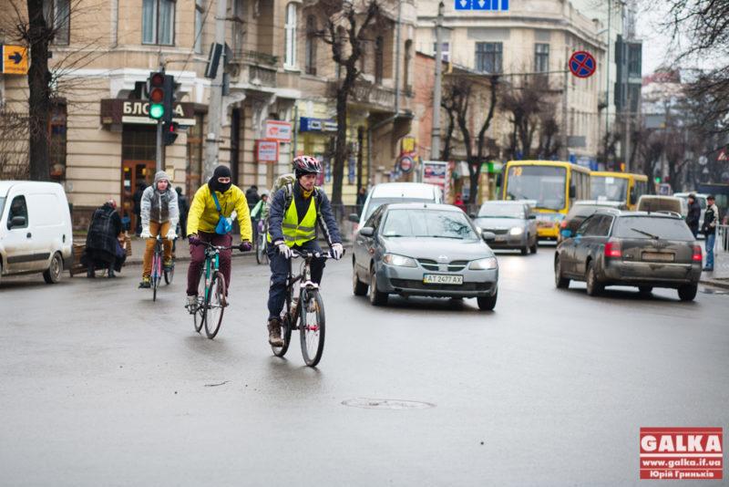Активісти вже проектують велодоріжку на Галицьку