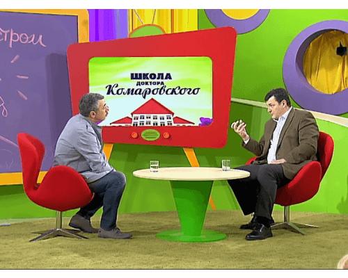 Лікар Комаровський розмовляє з міністром охорони здоров'я України Сандро Квіташвілі (відео)