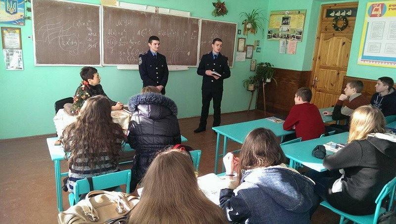 Франківські курсанти на канікулах відвідали рідні школи