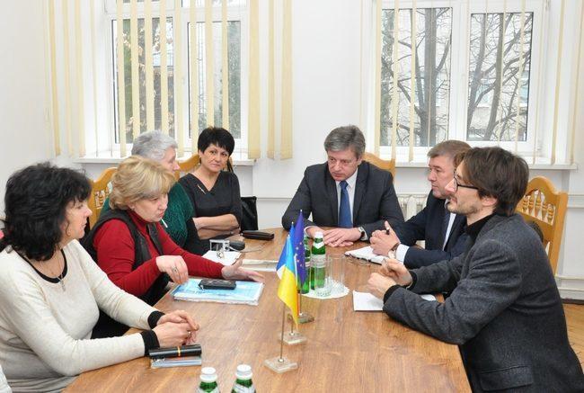 Радник Посольства Франції відвідав Прикарпатський університет
