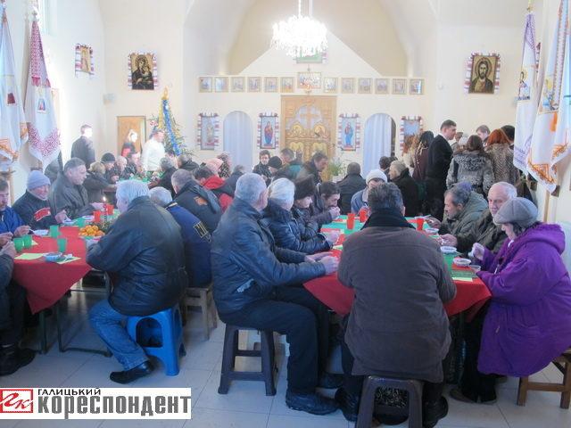 На Різдво в Івано-Франківську організують Різдвяний обід з бідними