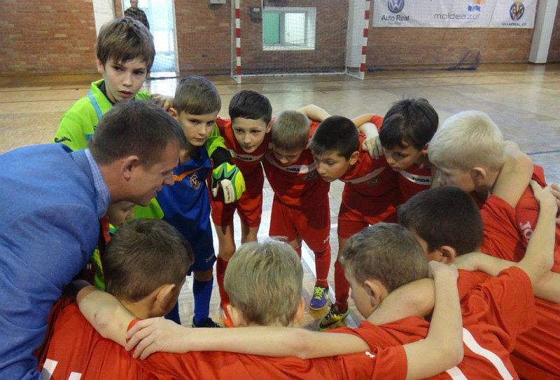 """Франківські юні футзалісти поступилися """"Реалу"""" – на черзі ігри з """"Депортиво"""" та """"Валенсією"""""""