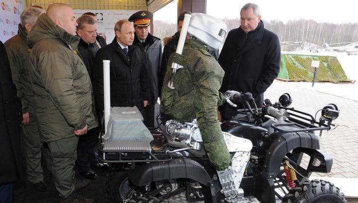 Путін планує відправляти на Донбас бойових роботів?