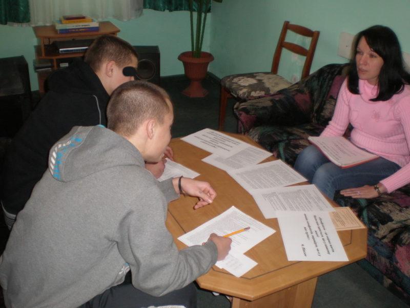 Ув'язнені підлітки вчилися гуманно вирішувати конфлікти