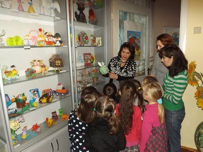 У садку «Калинова сопілка» відкрили музей паперу
