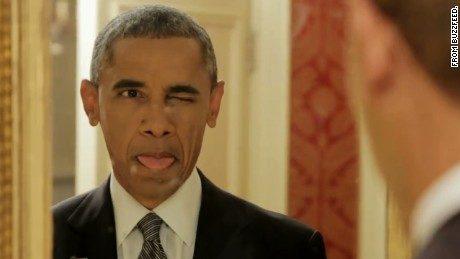 """Барак Обама корчить кумедні пики у ролику """"Речі, які всі роблять, але нікому про це не розповідають"""""""