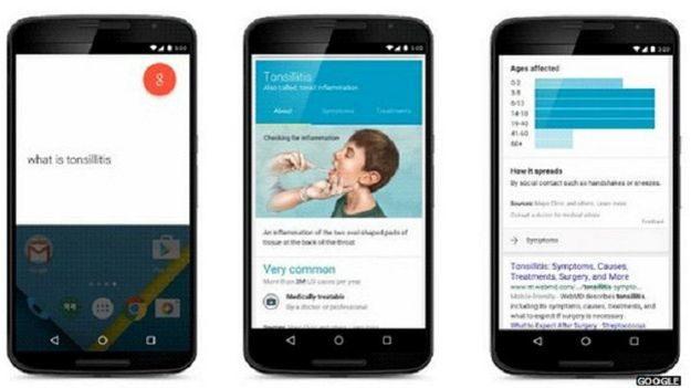 Google підготував власні медичні консультаці