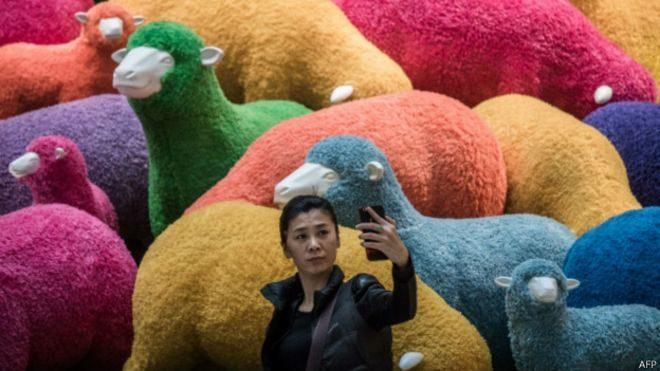 В Азії зустрічають рік Вівці (фото)