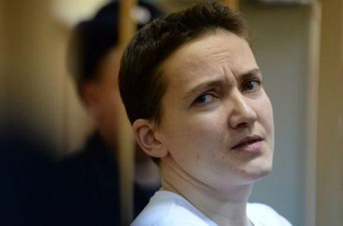 Надія Савченко третій день тримає сухе голодування