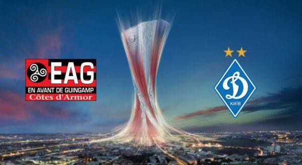 Під час матчу «Динамо»-«Генгам» вболівальники побилися через прапор (відео)