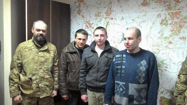 З полону бойовиків вдалося звільнити ще чотирьох українських бійців