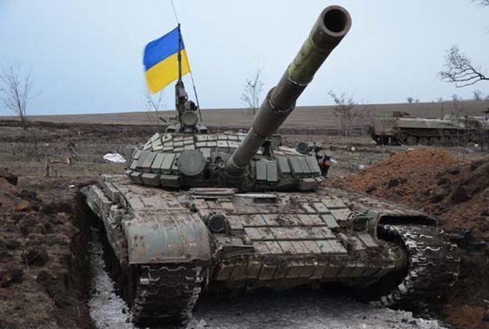 АТО танк бої бій