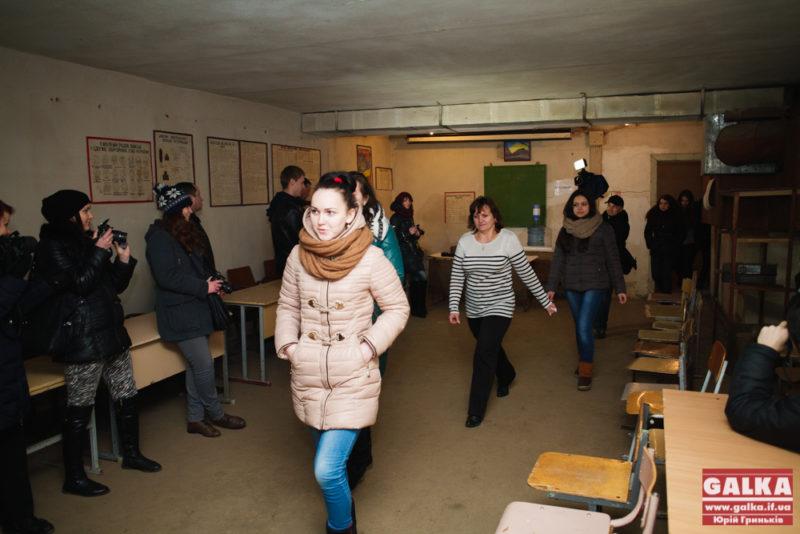 У третій гімназії провели показову евакуацію школярів (ФОТО)