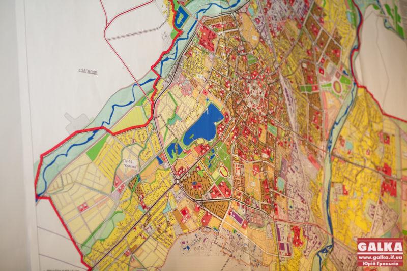 Зелені території на генплані міста збільшили за рахунок берегів Бистриць