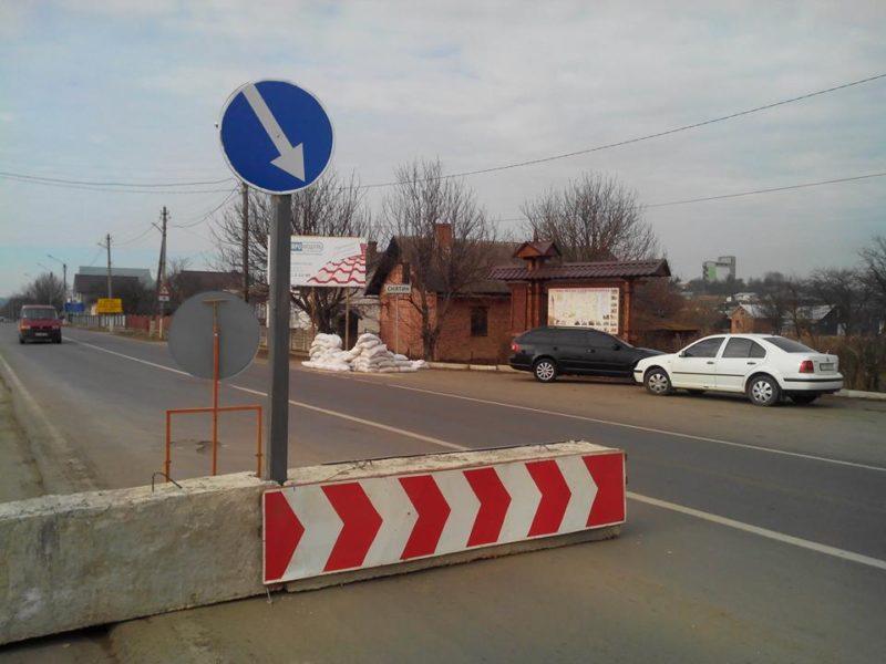На дорогах області міліція встановила 13 блок-постів (ФОТО)